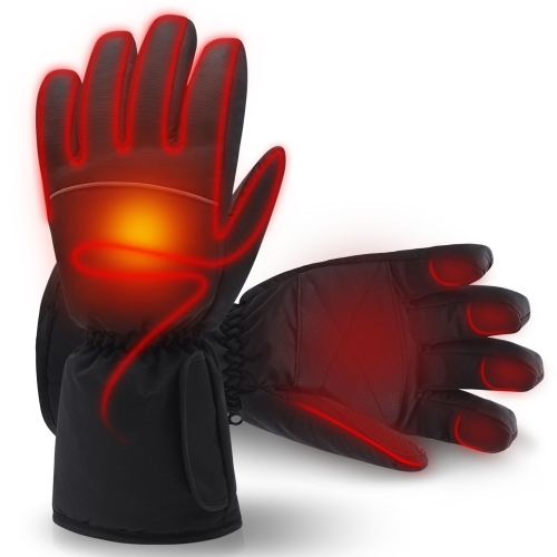 Mermaid Heated gloves Touch screen rechargeable battery for men&women rechargeable-battery heating,Waterproof, non-slip Motorbike Gloves Ski gloves